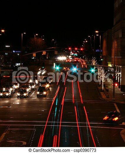 Street at Night - csp0390773