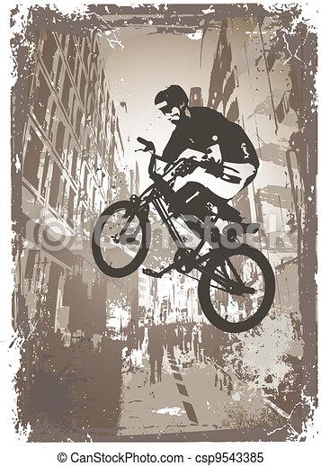 street biker - csp9543385