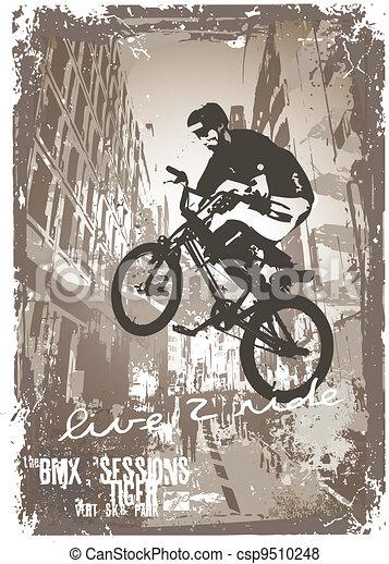 street biker - csp9510248