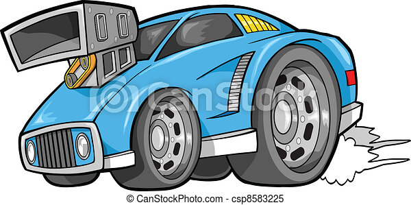 Street Car Vehicle Vector - csp8583225