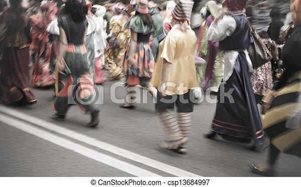 street carnival parade - csp13684997