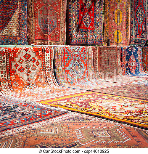 Street carpet market - csp14010925