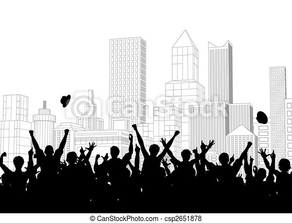 Street celebration - csp2651878