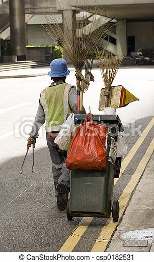 Street Cleaner - csp0182531