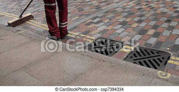 street cleaner - csp7394334