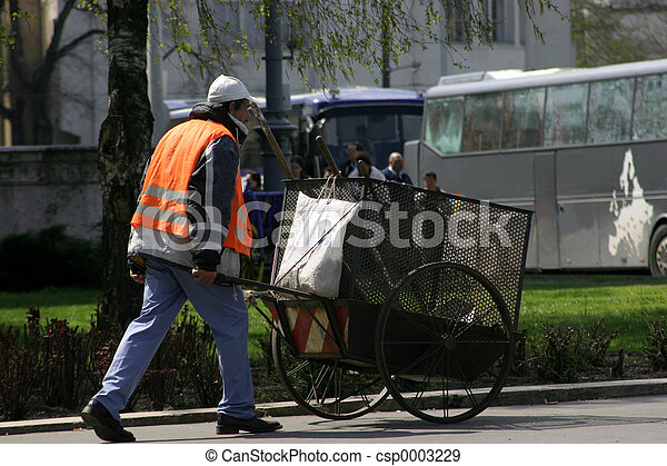 Street Cleaner - csp0003229