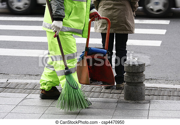 street cleaner - csp4470950