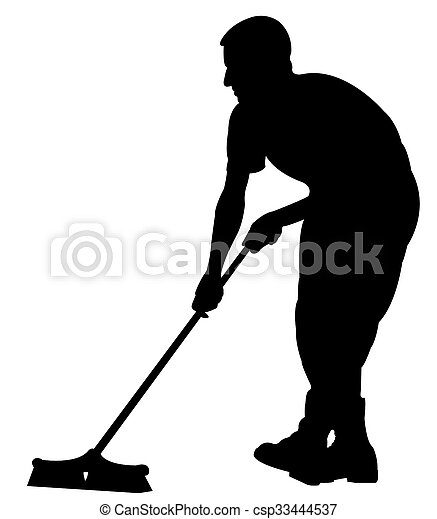 Street cleaner - csp33444537