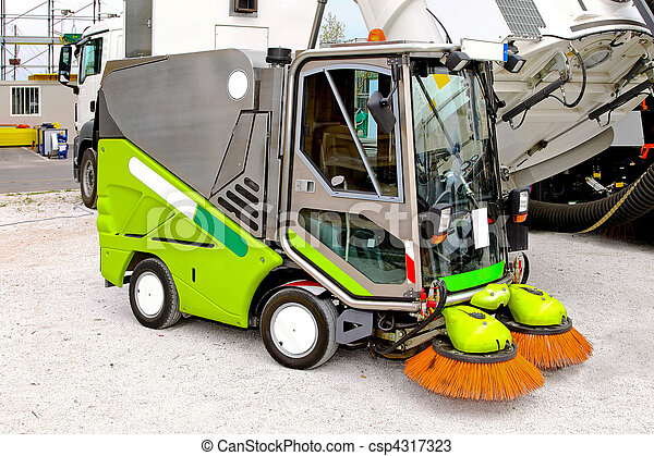 Street cleaner - csp4317323