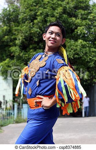 Street Dancer Poise - csp8374885