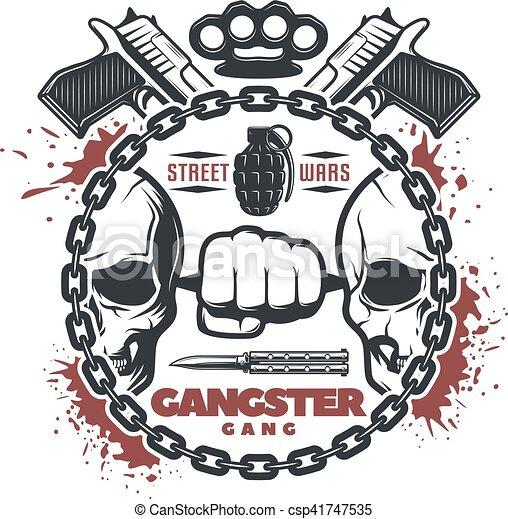 Street Gang Clip Art And Stock Illustrations 436 Street Gang Eps