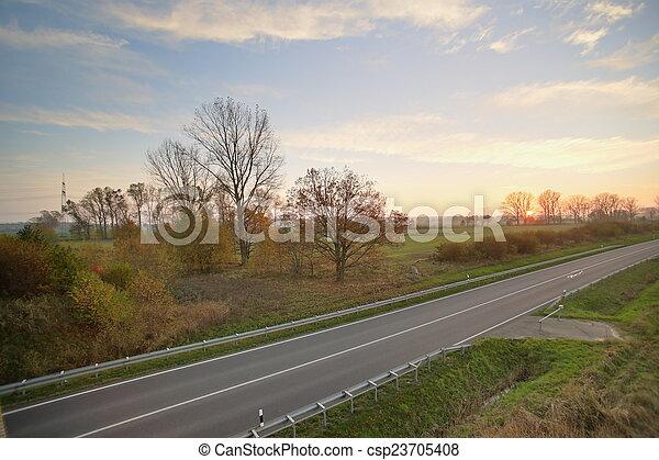 Street HDR - csp23705408