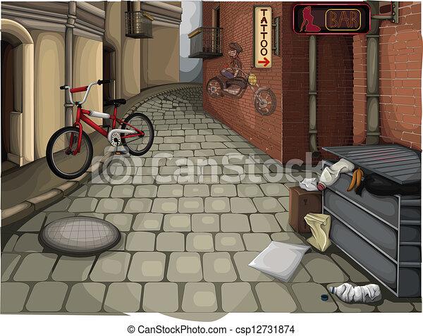 Street - csp12731874