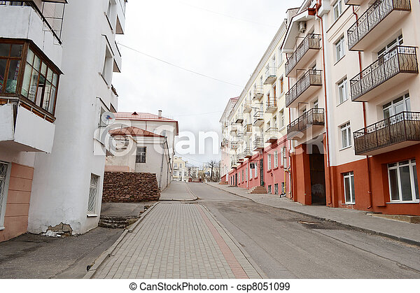 Street in Polotsk - csp8051099