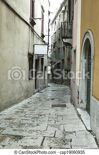 Street in the city - csp19060935