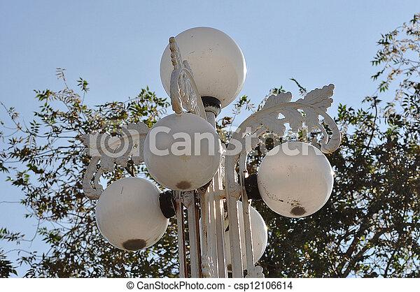 Street lamp - csp12106614