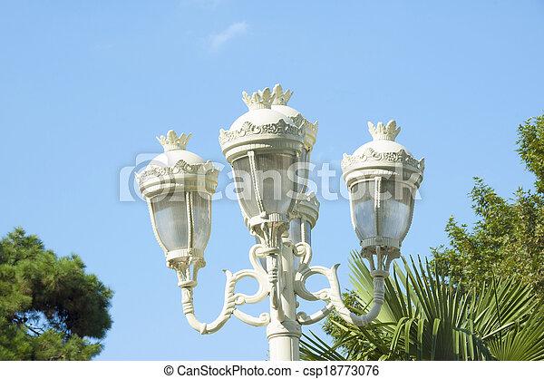 street lamp - csp18773076