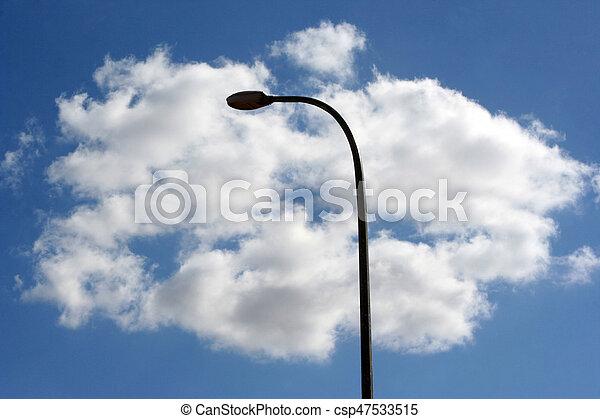 Street Lamp - csp47533515