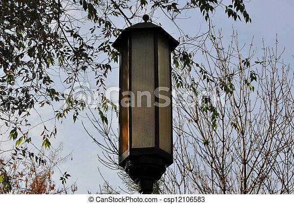 Street lamp - csp12106583