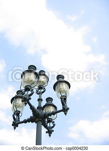 Street Lamp - csp0004230
