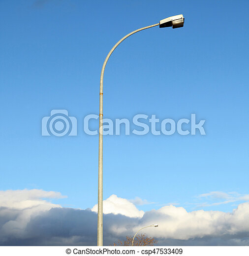 Street Lamp - csp47533409