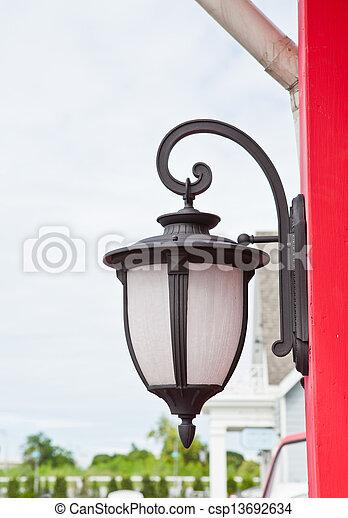 Street Lamp - csp13692634