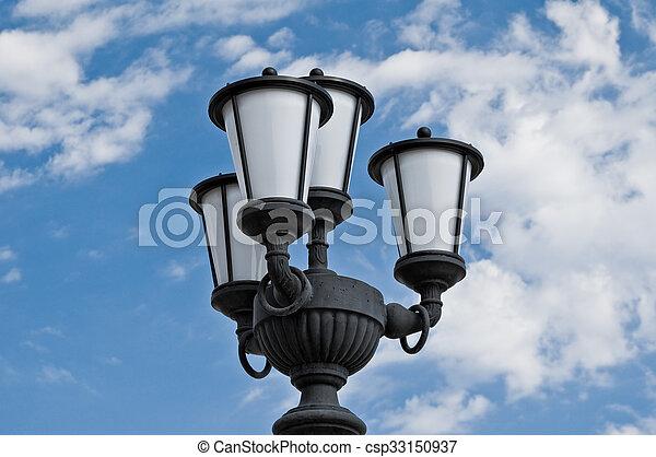 Street lamp. - csp33150937