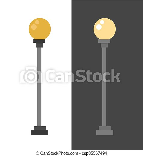 lamp retro metal street object electricity industry and vintage