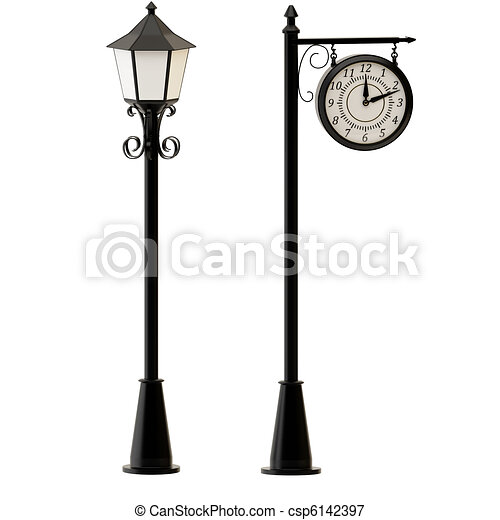 Lamppost Clipart and Stock Illustrations. 1,429 Lamppost vector ...