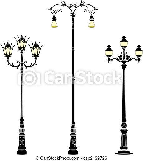 Street lamps - csp2139726