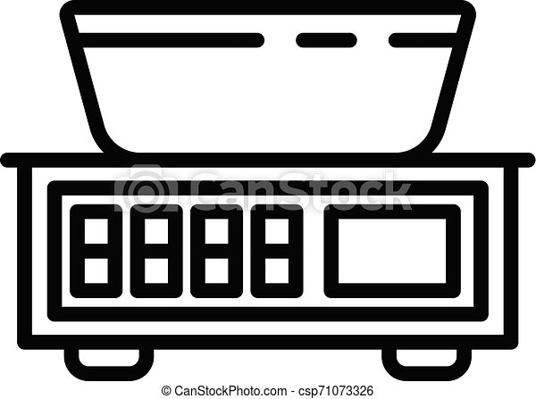 Street Market Icon. Simple Illustration Of Street Market Vector.. Royalty  Free Cliparts, Vectors, And Stock Illustration. Image 130840568.