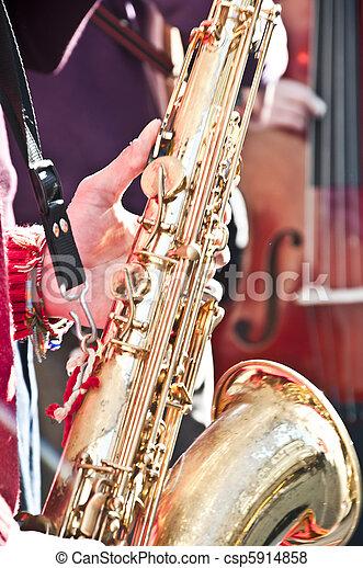 Street Musicians - csp5914858