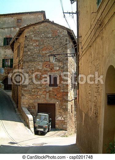 street Sarteano - csp0201748