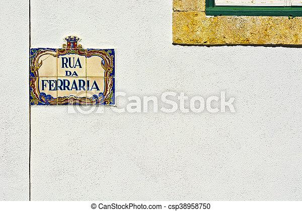 Street Sign - csp38958750