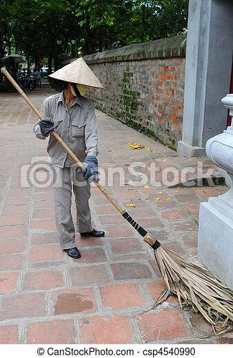 Street sweeper , Vietnam