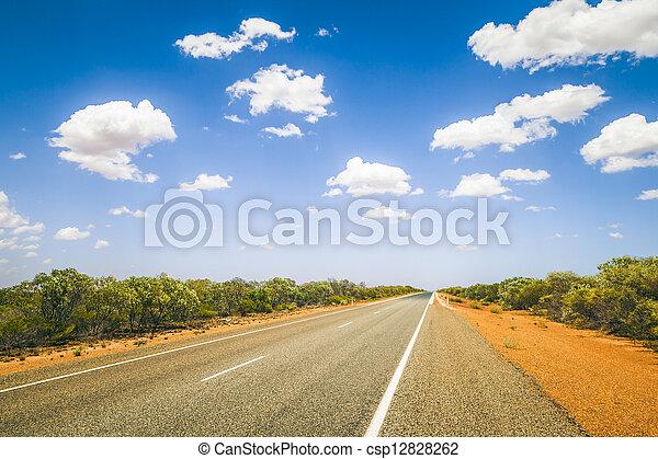 street to horizon - csp12828262