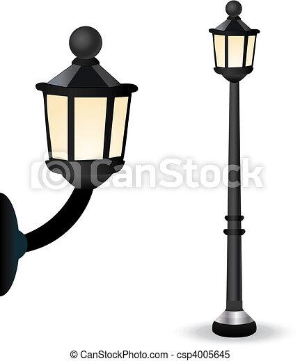 Streetlight Set - csp4005645