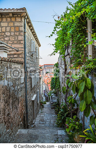 Streets of the old city - csp31750977