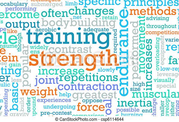 Strength Training - csp6114644