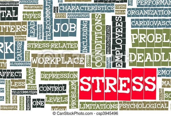 Stress - csp3945496