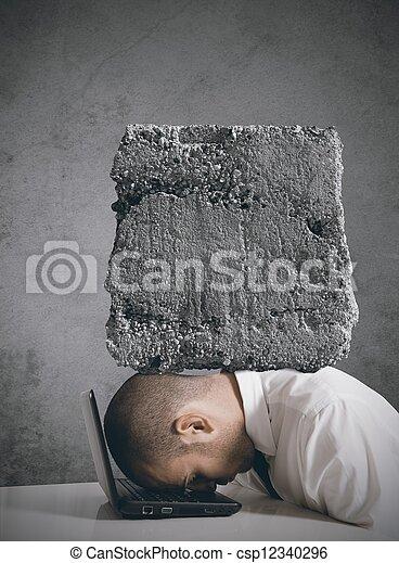 stress, werken - csp12340296