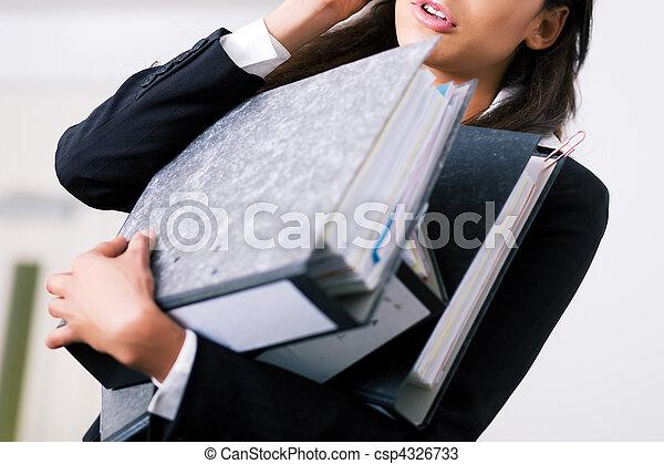 Stressful job - csp4326733