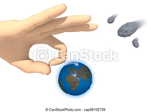 Strike the Earth - csp38102739