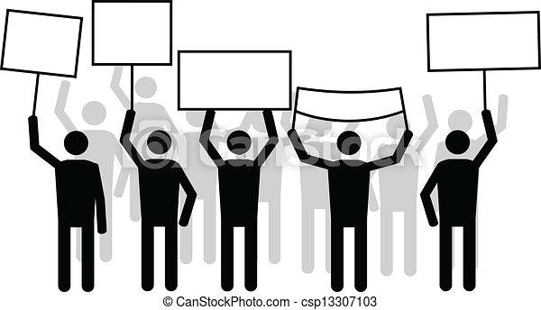 strike peoples in vector format