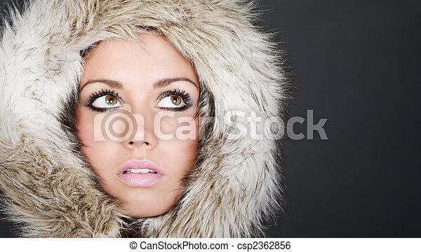 Teens in fur hood — img 8
