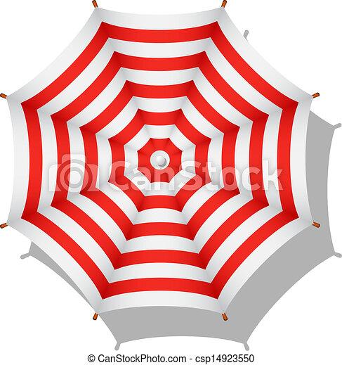 0828a3118d Striped beach umbrella