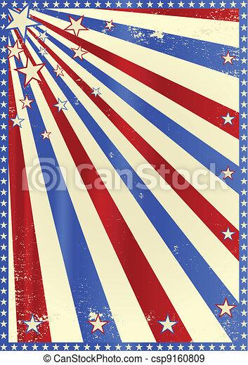 Striped grunge tricolor - csp9160809
