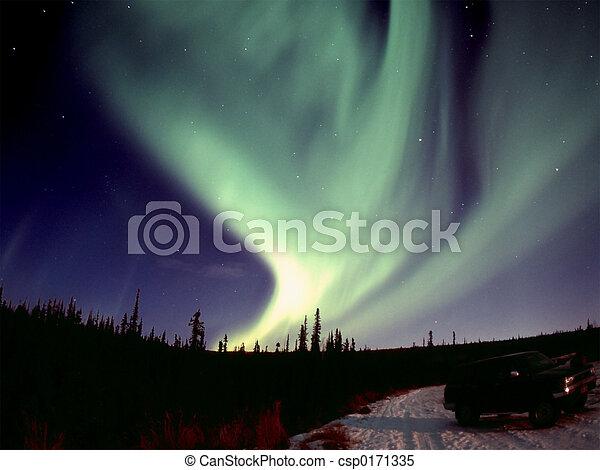 Strong Aurora - csp0171335