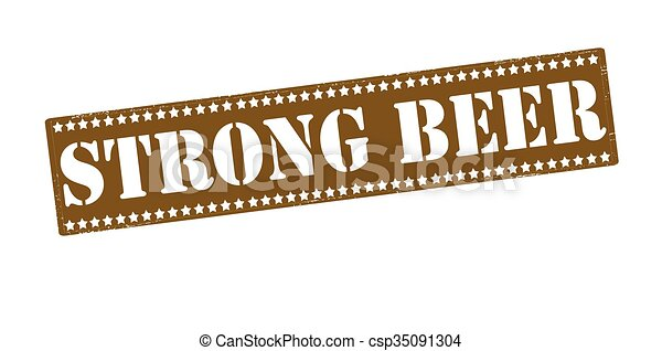Strong beer - csp35091304