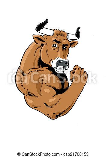 Strong Bull - csp21708153